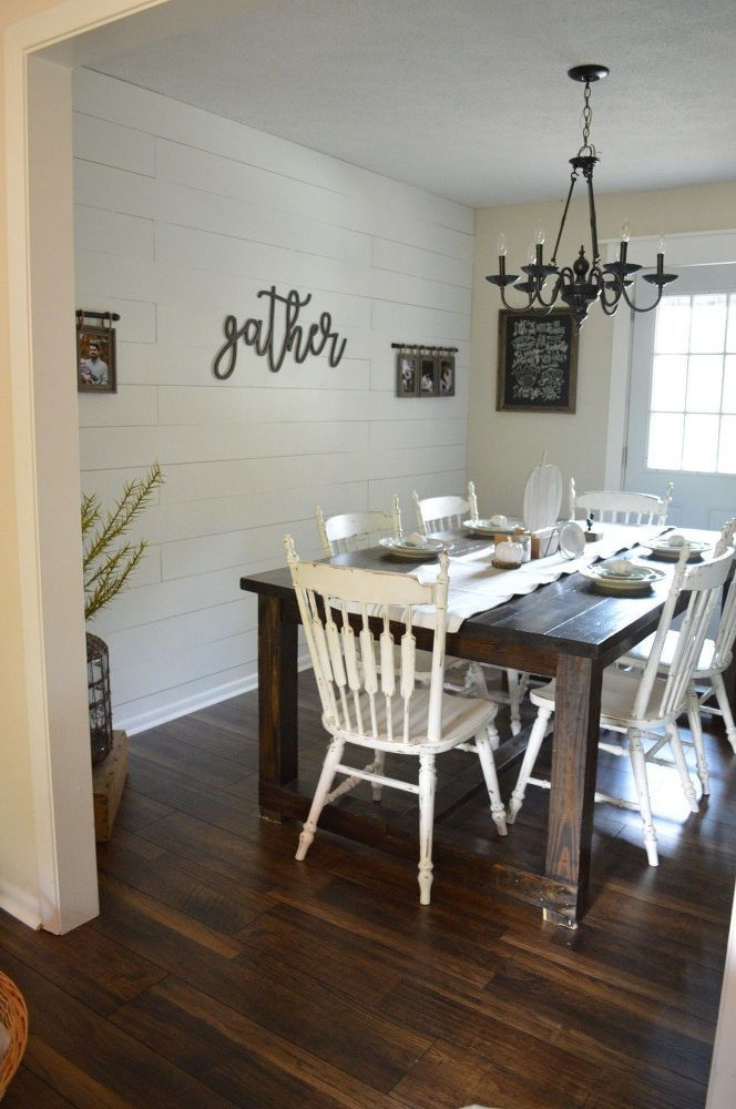 Gorgeous Shiplap At A Fraction Of The Price Dining Room