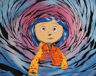 Coraline Through The Tunnel Coraline Art Coraline Jones Coraline Drawing