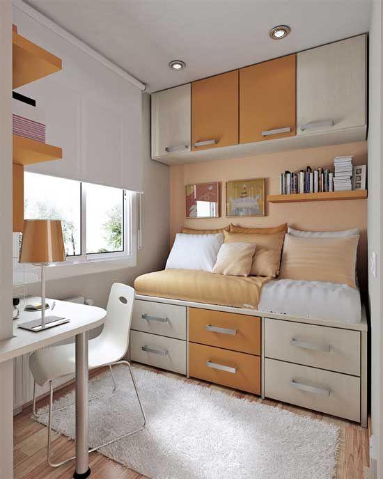 Interior Design Small Bedroom New Petite Chambre Ado En 30 Idées Fascinantes Pour Votre Enfant 2018