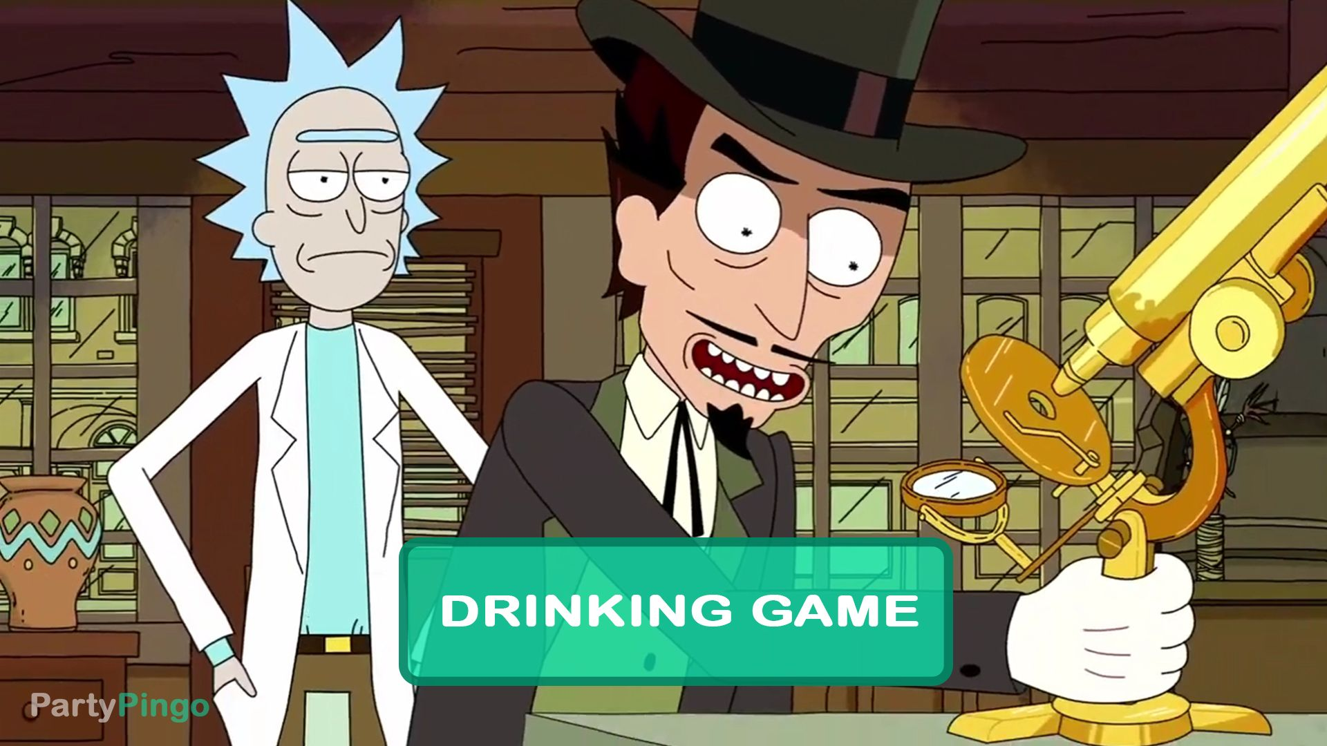 Rick And Morty Something Ricked This Way Comes Drinking Game Season 1 Episode 9 Rick And Morty Season Drinking Games Rick And Morty