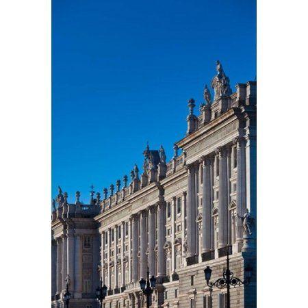 Spain Madrid Palacio Real Royal Palace Canvas Art - Walter Bibikow DanitaDelimont (18 x 24)