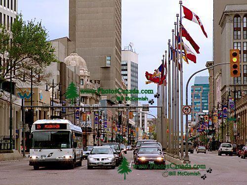 Winnipeg Manitoba. Portage and Main