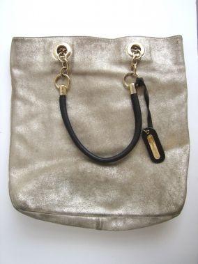 3085555710 Cynthia Rowley Golden Shimmer Oversized Shoulderbag Purse  99.99 ...