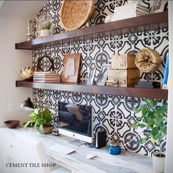 Cement tile shop encaustic cement tile atlanta home for Cocinas bonitas