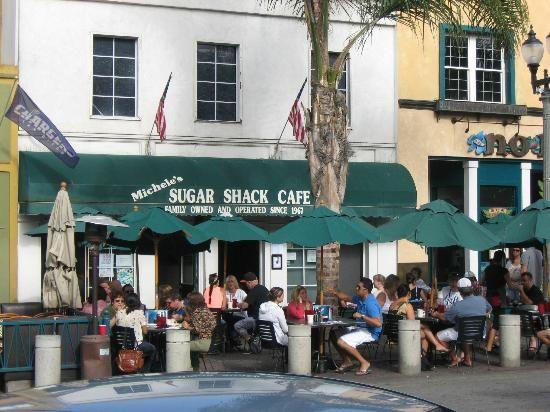 Sugar Shack Cafe Main Street Huntington Beach Restaurants California Disneyland