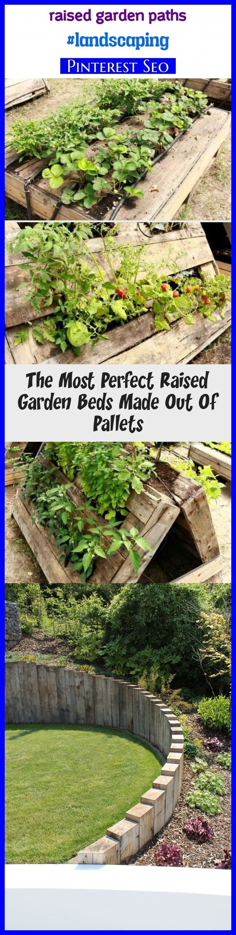 Photo of Raised garden paths #landscaping #seotips #seo #gardens. garden paths and walkwa…