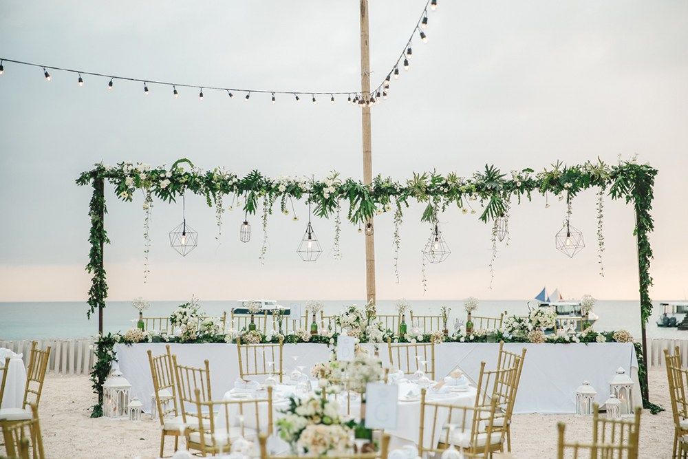 A Modern Rustic Beach Wedding at ShangriLa's Boracay