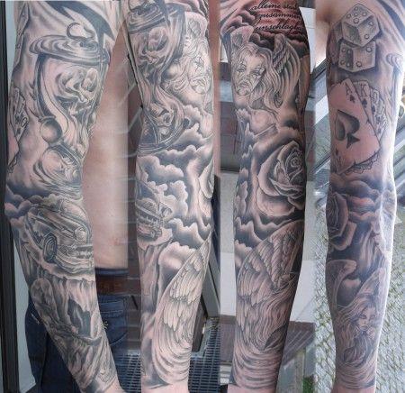 schwarz grau tattoos pinterest tattoo. Black Bedroom Furniture Sets. Home Design Ideas