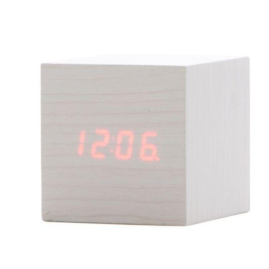 Kikkerland Clap On Cube Alarm Clock   $28.12 Trade Ideas