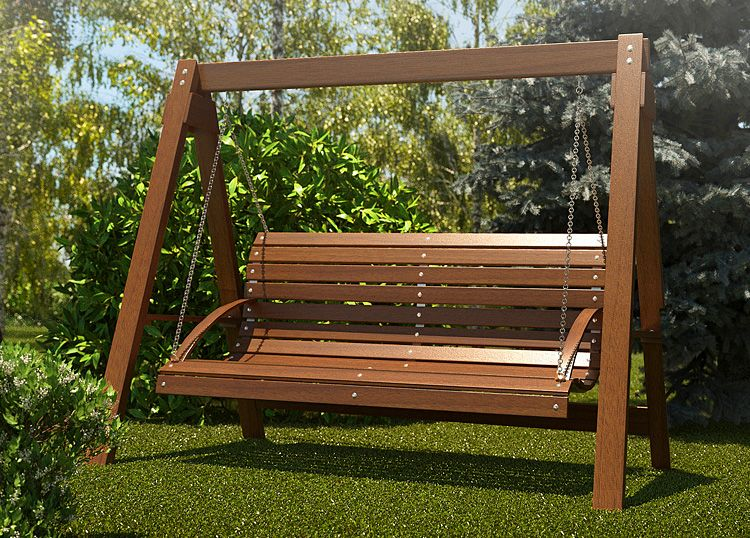 Hustawka Ogrodowa Magis 3x 180cm Outdoor Decor Outdoor Porch Swing