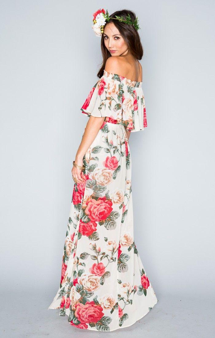 e2fa97bbd96 Hacienda Maxi Dress - Lady Rose