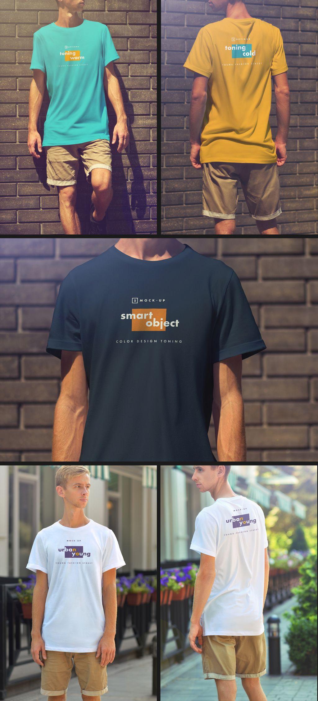 Download 5 T Shirt Mockups Pridbajte Cej Stokovij Shablon I Znajdit Bilshe Shozhih Shabloniv Na Adobe Stock Adobe Stock Shirt Mockup Mens Tops Shirts