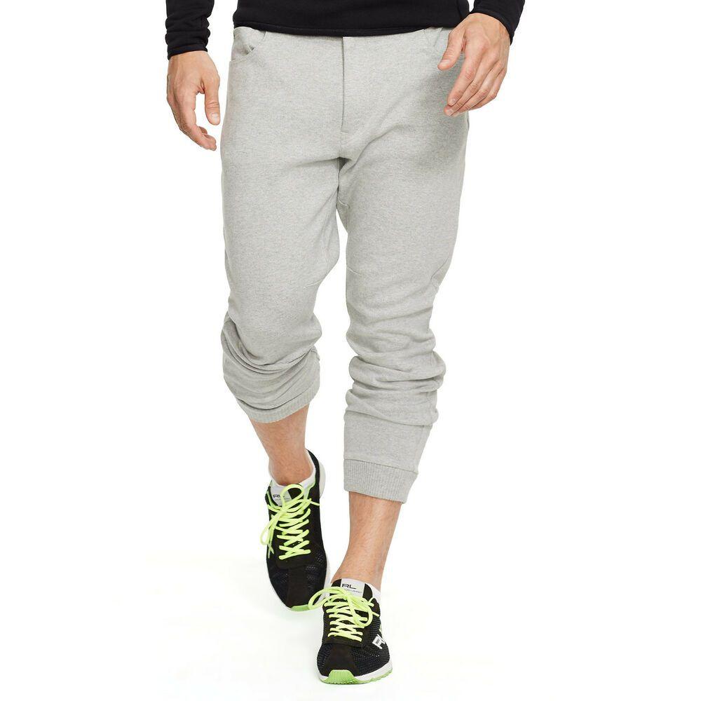 RLX RALPH LAUREN 165 heather gray andver athletic pants