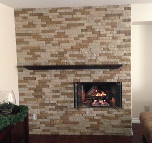 AirStone Autumn Mountain, easy to install   Fireplace Ideas ...