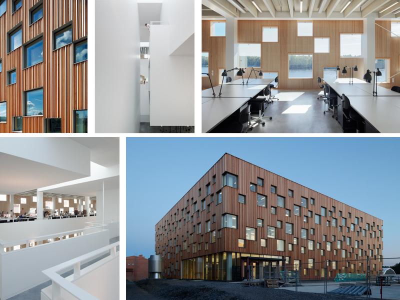 Pin af Henning Larsen Architects på Umeå School of