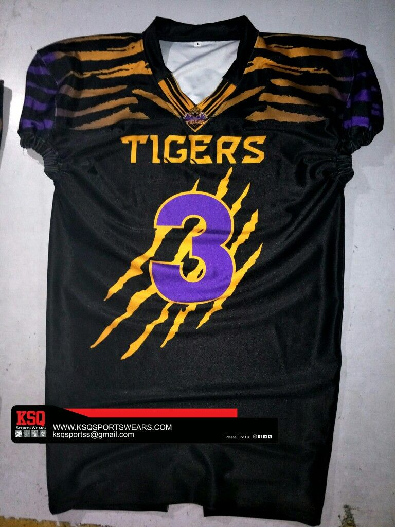 541494dbe Customized fully sublimation American football jersey Football Uniforms