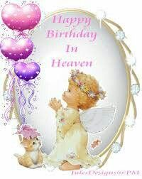 Birthday Wishes in heaven. Angel Poems on fb   Birthday in ...