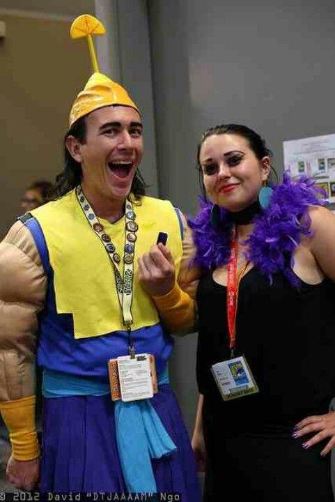 Ezma and kronk! Aw Pinterest Costumes - halloween movie ideas