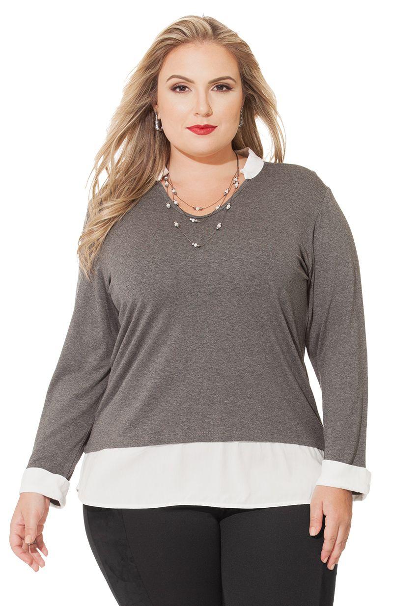 5804cda80c14a Se você está procurando roupas plus size femininas baratas para comprar  online, você chegou no