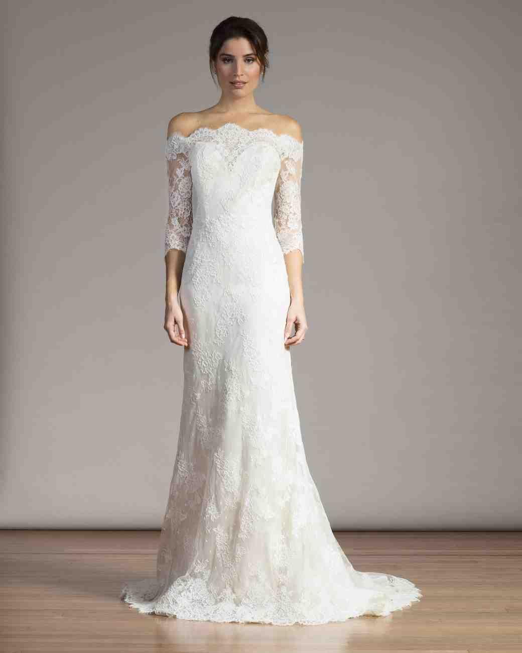 Spring Wedding Dresses: Long-Sleeve Wedding Dresses We Love