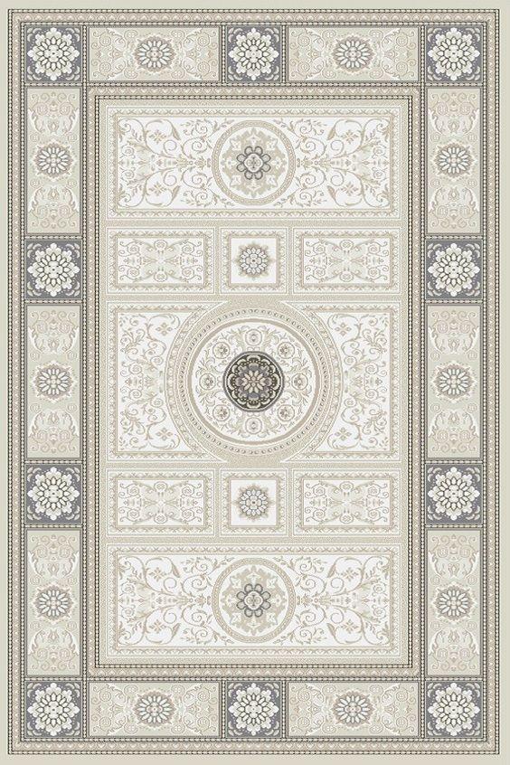 Teppich Klassisch 200x300 Cm Naturliche Farbe Schurwolle Grau