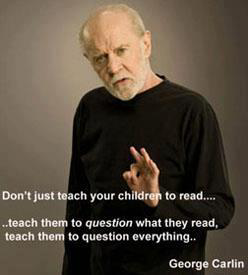 George Carlin knows how to do it right