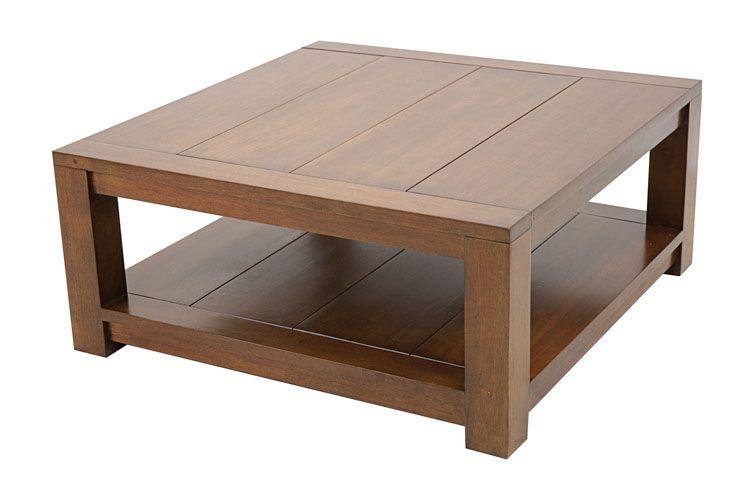 Table Basse Carrée Attan 80cm Tables Basses Table