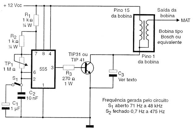 Mini Mat Jeneratör Cir10160 Geradores Mini Esquemas Eletrônicos