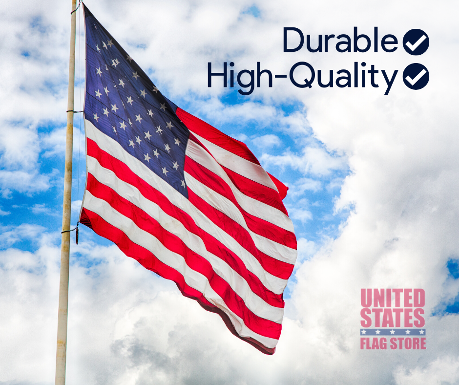 A Few Things We Re Proud Of Our Flags Are Made Of The Highest Quality Materials Our Products Are Durable Long Last In 2020 Flag Store United States Flag Flag