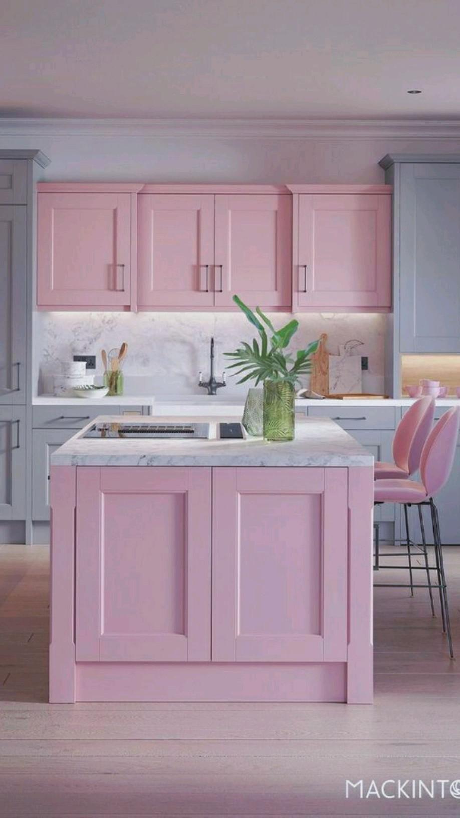 23 Pink Kitchen Cabinet Ideas