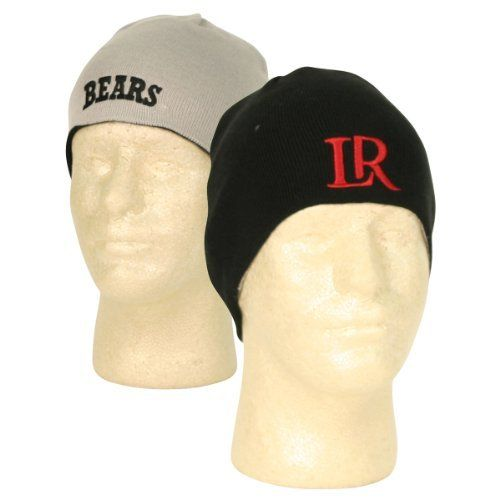 e3fd21cfcc0 NCAA Reversible Ultra Fit Winter Knit Beanie Cap - Lenoir-Rhyne University  Bears by NCAA