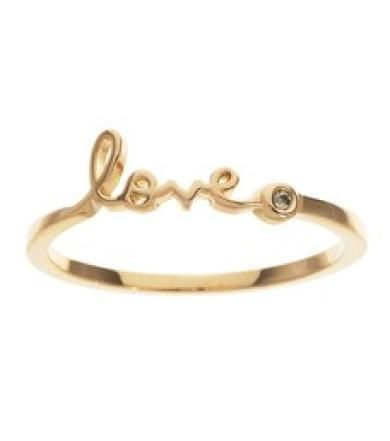 "We are in love with these ""love rings"" by Shy by Sydney Evan (via thomaslaine.com)"