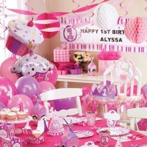 first birthday party ideas Interesting Girls 1st Birthday Party