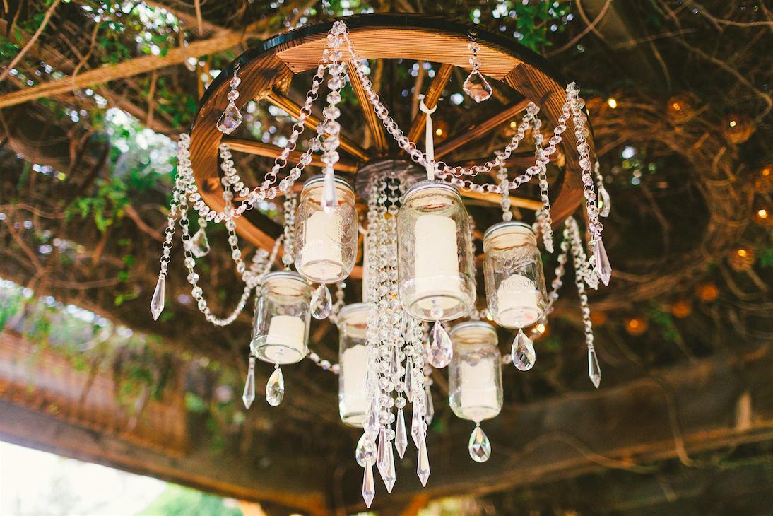 Diy mason jar wagon wheel chandelier wedding day country bride diy mason jar wagon wheel chandelier wedding day country bride shenandoah mill arubaitofo Image collections