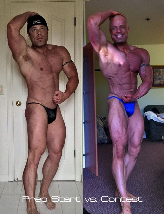 14wks out vs. 1 day out