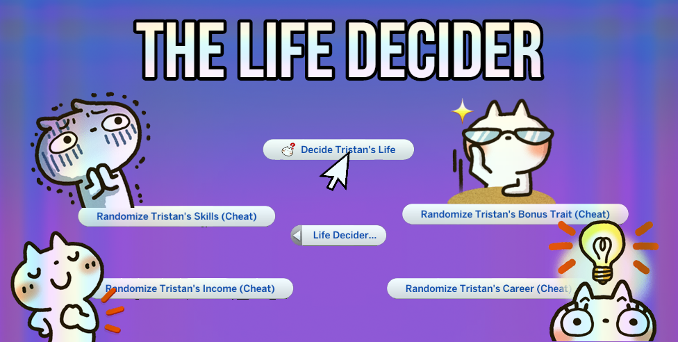 The Life Decider Kawaiistacie Mods Sims Stories Sims 4 Stories Sims 4