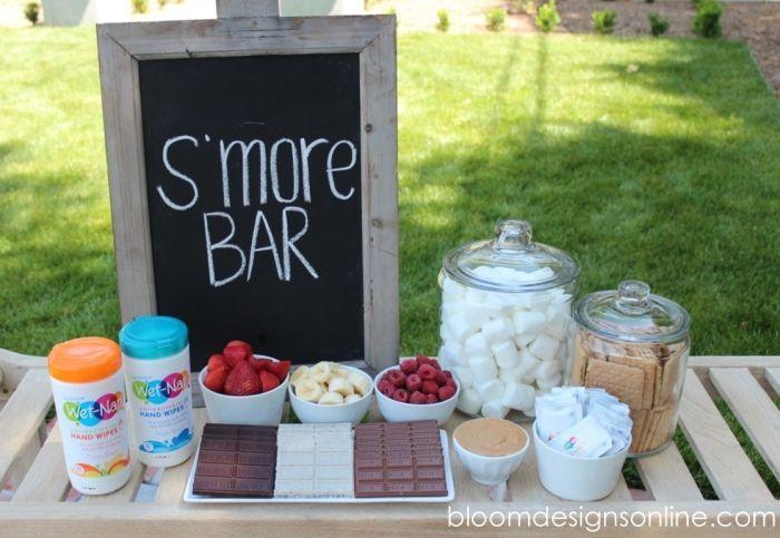 Summer Smores Bar