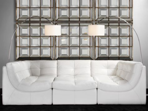 Cloud Modular Sectional White From Z Gallerie Put All The Pieces Together For A Super Sofa Or Arrange Separately As And Chaise