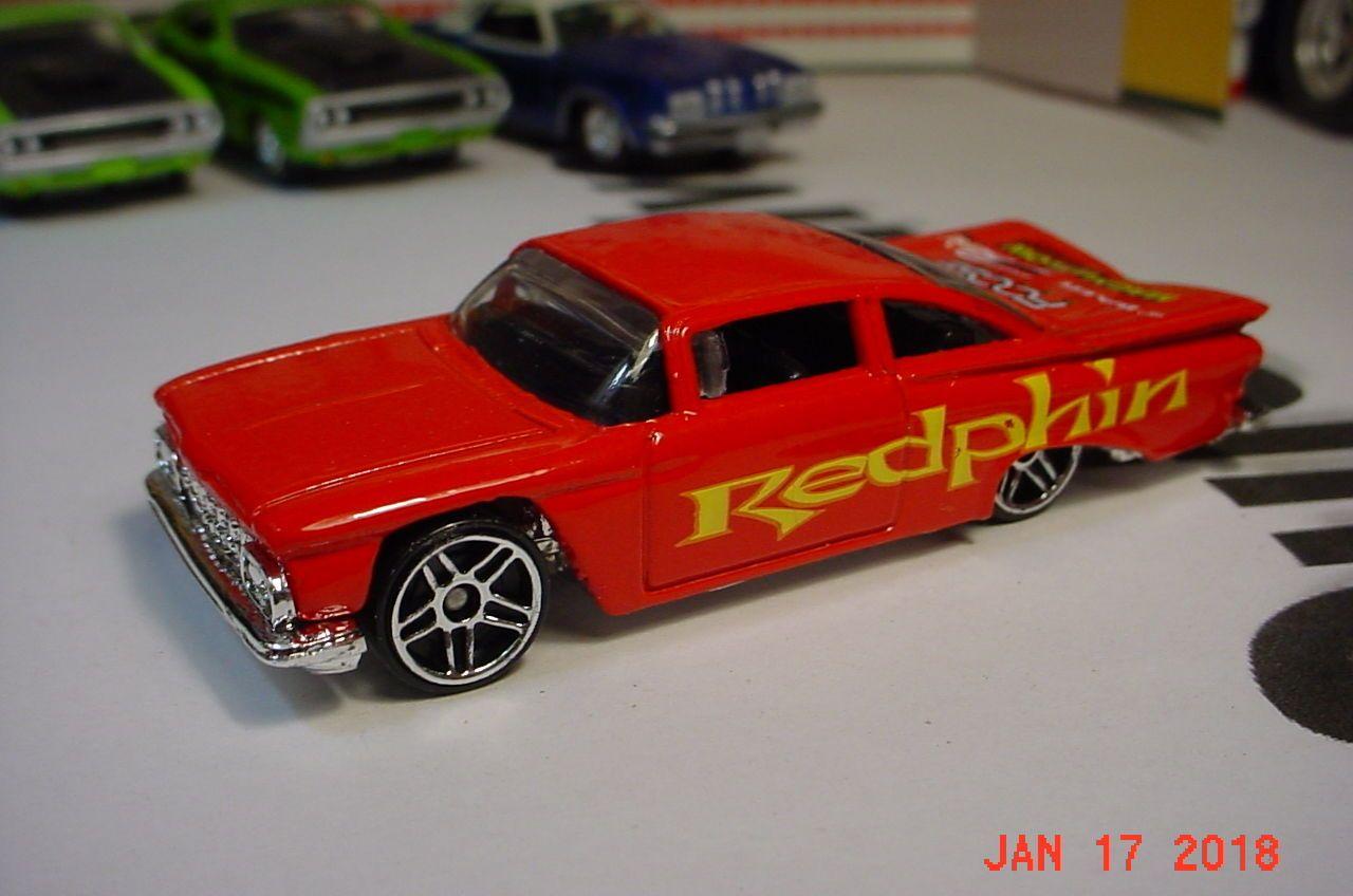 Hot Wheels 2003 179 1959 Chevrolet Bel Air Red Redphin Malaysia Hot Wheels Chevrolet Bel Air Wheels For Sale