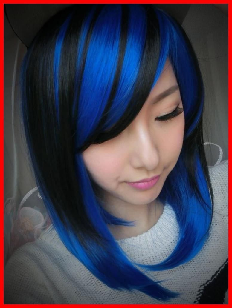 50 Blue Hair Highlights Ideas Blue Highlights Are Becoming More And More Popular As People B Blue Hair Highlights Blonde Hair With Blue Highlights Hair Styles