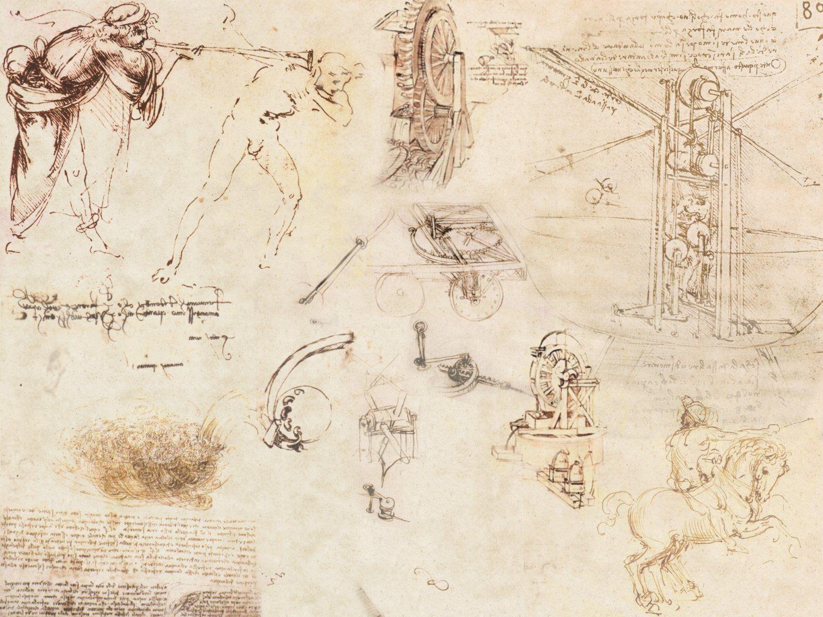 da vinci | Leonardo da Vinci Wallpaper 1600 x 1200 | Leonardo Da ...