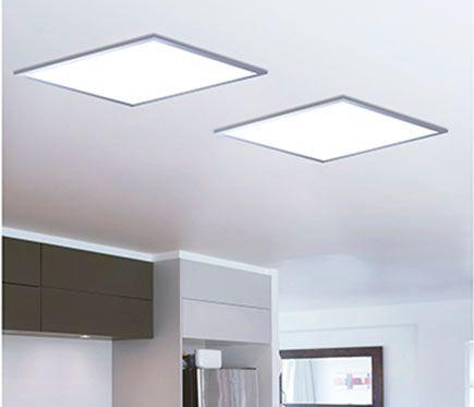 Panel LED Inspire GDANSK CUADRADO 9W Leroy Merlin