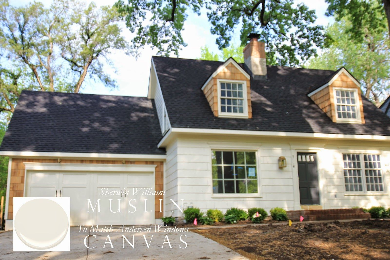 Sherwin Williams Muslin Matches Anderson 400 Windows In Canvas Everyday Occasions Blog