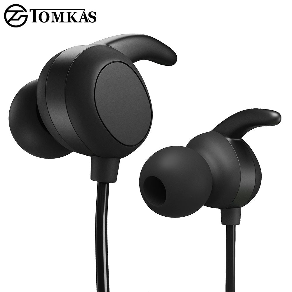 Tomkas Wireless Bluetooth Earphone Phone With Microphone Sport Headset Bluetooth Headphone For Iphone Bluetooth Headphones With Images Iphone Bluetooth