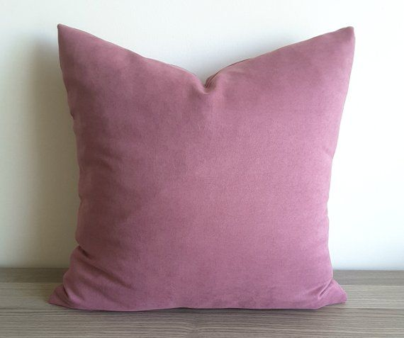 Miraculous Dark Dusty Rose Pillow Cover Mauve Decorative Pillow Mauve Squirreltailoven Fun Painted Chair Ideas Images Squirreltailovenorg