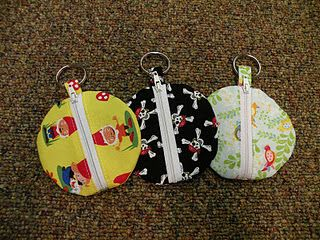 Earbud (or coin) pouches
