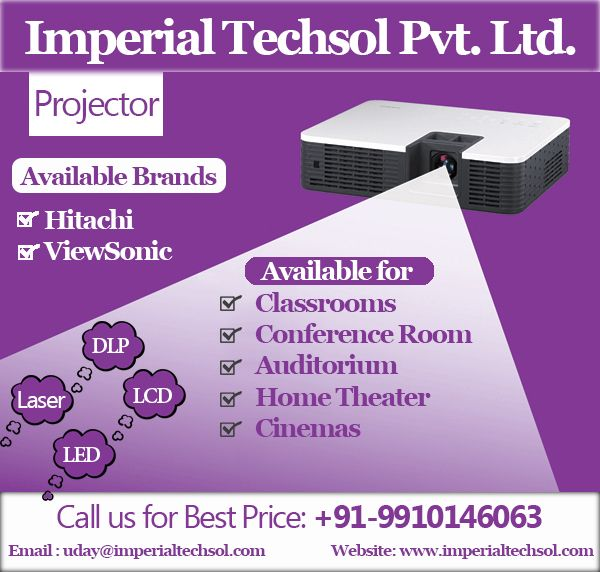 Projector solution in across india lcd hd laser home theater also imperial techsol pvt ltd imperialtechsol on pinterest rh