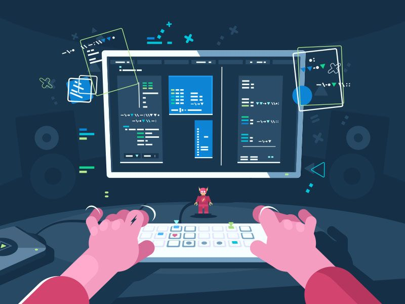 Tips To Help Designers Work Better With Coders - Web Design Ledger |  Illustration program, Coding, Flat illustration