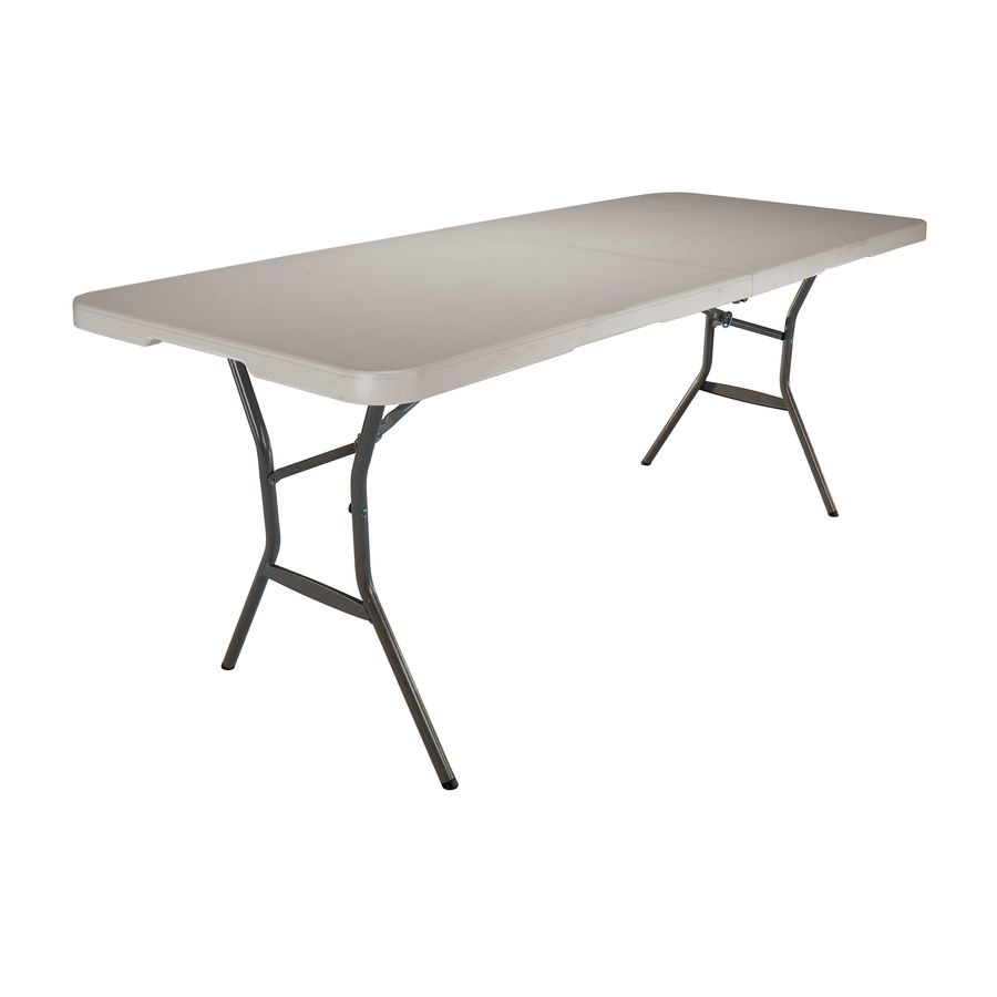 Shop Lifetime Products 72 In X 30 In Rectangular Steel Folding