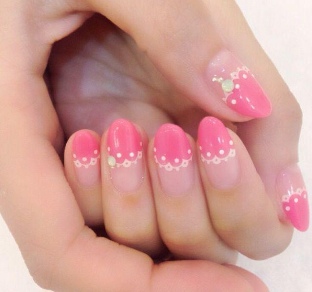 フェミニンなピンク